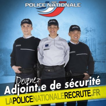 Recrutement adjoint de sécurité