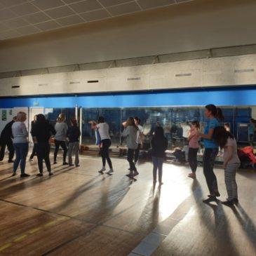 Danse au gymnase