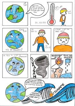 Projet Développement durable par le dessin humoristique: votezpour les 2 ASSP